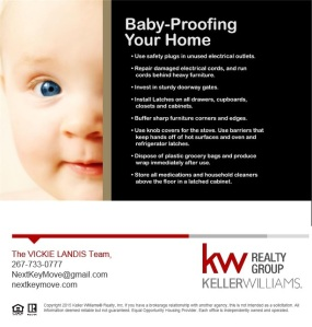 Child Proofing your home is essential to keeping your baby safe... Here are some important tips.